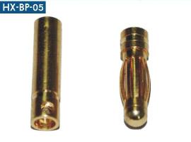 Bananplugger 3.0 – Gold plated (2 par)