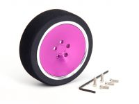 Hiro Seiko – Alu Steering Wheel-Dish Wheel – (Purple Colour)