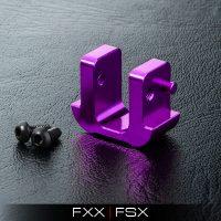 MST – FXX Alum. battery block (Purple)