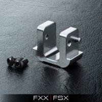 MST – FXX Alum. battery block (Silver)
