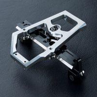 MST – XXX Alum. slide rack steering set (Silver)