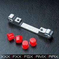 MST – Adjustable alum. suspension mount (+1.5-+3.0) (Silver)