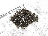TRF419X Titanium Hex Socket Screw Set
