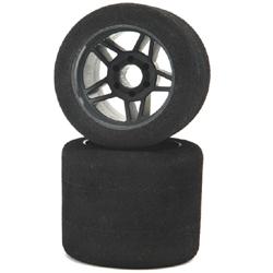 Matrix Racing – 1:8 Rear 35sh – Foam on Carbon Rims – (2 pcs)