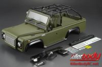 MARAUDER 1:10 Scale Crawler – Finished Body (Mat Military Green)