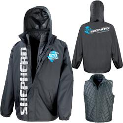 Shepherd – 3-in-1 Team Jacket Black -3XL