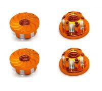 HRC – 4mm Alloy Serrated Wheel Nut – (Gold)