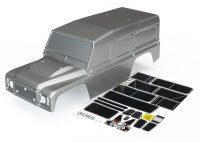 TRX-4 – Body Land Rover Defender Graphite Silver