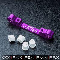 MST – Adjustable alum. suspension mount (+1.5-+3.0) (Purple)