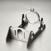 Motorfeste til 36mm motor (Carbon/Silver)