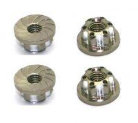 HRC – 4mm Alloy Serrated Wheel Nut – (Gun Metal)