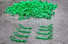 Body Clips Multi colors (Green)