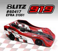 BLITZ – 919 1:8 On-Road Racing Body shell – Light (EFRA 31551)