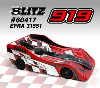 BLITZ – 919 1:8 On-Road Racing Body shell – Standard (EFRA 31551)