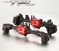 CNC Aluminum Front Rear Axle Housing Set For Traxxas TRX-4