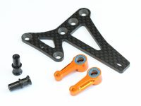 Aluminum Steering Arm and Floating Steering System for Xray T4-15