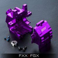 MST – FXX Alum. rear gear box (Purple)