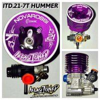 Novarossi – Ielasi Tuned Buggy Motor – 3.1cc (.21)