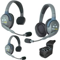 UltraLITE 3 Person System (w/3 Single Headsets, Batt/Charger) (Bestillingsvare)
