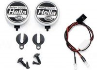 Hella – Light Kit – 1:10 – LED – JR Plug – Cover + LED – 2x White LED