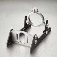 Motorfeste til 40mm motor (Carbon/Silver)