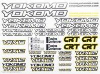 Yokomo YR-X12 Decals