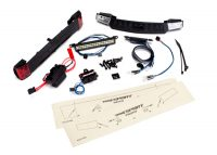 Traxxas – LED Light Front and Rear Set with PowerSupply – TRX-4 Sport