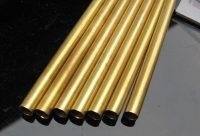 Messingrør til drivaksel (Iner dia 8.5mm, thickness 0.5mm, Lenght=300 mm)