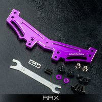 MST – RRX Alum. rear quick adj. damper stay (Purple)