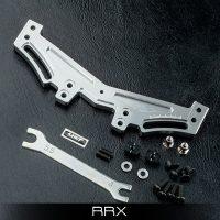 MST – RRX Alum. rear quick adj. damper stay (Silver)