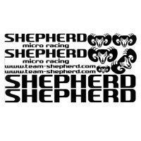 Decals Shepherd Black