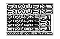 R1 WURKS – Stickers