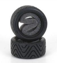 Shimizu Treaded Tires for M-Chassis – Medium (2 pcs)
