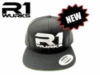 R1 Wurks Wool Flat Brim Hat