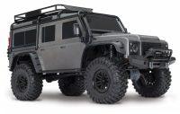 Traxxas – TRX-4 Scale & Trail Crawler Land Rover Defender ARTR (SILVER)