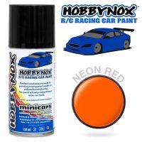 Hobbynox – Neon Rød RC Racing Car Spray (150 ml)