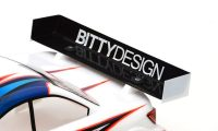Bittydesign – Rear Hard wing 1mm – Charge version (Universal)
