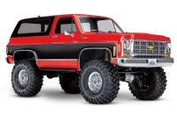 Traxxas – TRX-4 Chevy Blazer Scale & Trail Crawler – Red