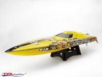 NEW Pursuit Competition Racing Boat – m/HardWare – 820mm (New Colours)