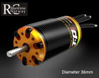 Båtmotor - 34mm (Diameter)