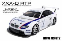 MST – BMW M3 GT2 – XXX-D 1:10 – 4WD RTR (2.4G) – Brushless