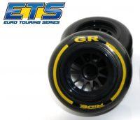 Ride F1 Front Rubber Slick Tires GR Compound 61mm Tires – Asphalt