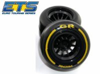 Ride F1 Rear Rubber Slick Tires GR Compound 61mm Tires – Asphalt