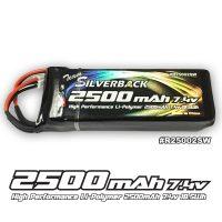 Silverback – Lipo 2500mAh 7.4V Transmitter/Receiver Battery (JR Plug)