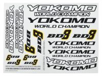 Yokomo – BD8 Logo Decal Sheet