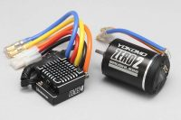 Yokomo – Brushless ESC w/Zero 2 – 10.5T Motor (Black) Combo set