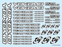 Team YOKOMO Decal White