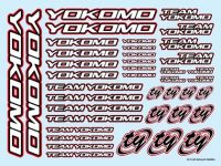 Team YOKOMO Decal Red