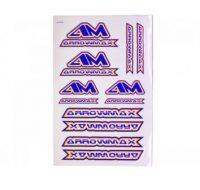 Arrowmax – DECAL M (14 x 21cm) Color