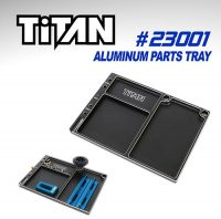 TiTAN Alu Parts Tray